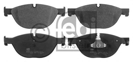 FEBI BMW Тормозные колодки F01/F02/F10 10- FEBIBILSTEIN 16787