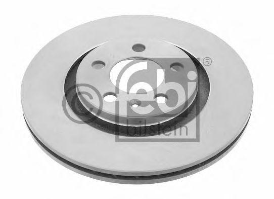 Гальмівний диск Skoda Octavia / VW Golf / Seat Toledo