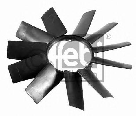 FEBI BMW Крыльчатка  вентилятора (11-лопастей) 5 Е34/Е39, 7Е38 FEBIBILSTEIN 19257