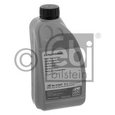 Масла гидравлические Жидкость в ГУР (зеленая) FEBI (1л.)  арт. 21647