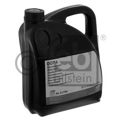 Тормозная жидкость 5л DOT-4  арт. 21754