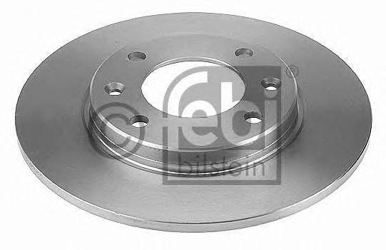 FEBI CITROEN Тормозной диск задний Berlingo, C2, C3, C4 FEBIBILSTEIN 21966