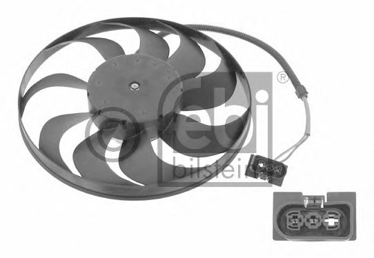 Вентилятор радиатор Seat; Skoda; VW (пр-во FEBI)                                                     в интернет магазине www.partlider.com