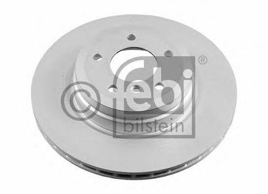 FEBI BMW Тормозной диск передн.E81/87/90/91/92  (300*24) FEBIBILSTEIN 24468
