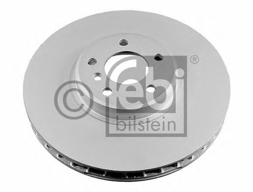 FEBI BMW Диск тормозной передний Х5 Е53 4.8 FEBIBILSTEIN 24801