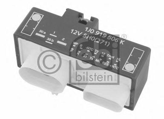 Блок управления вентилятором Реле, продольный наклон шкворня вентилятора FEBIBILSTEIN арт. 26141