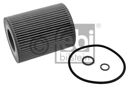 Фильтр масляный BMW (E36, E39, E46, E53) 94-06 (пр-во FEBI)                                           арт. 26686