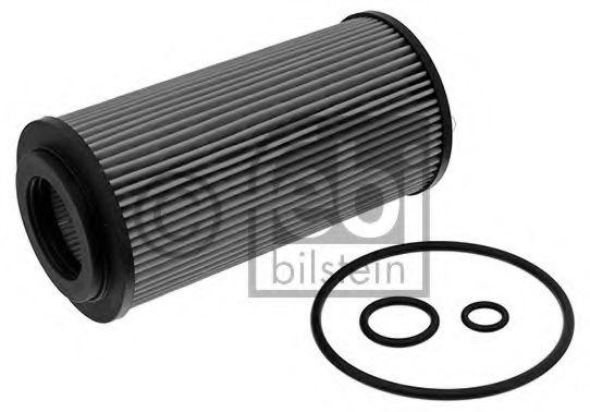Фильтр масляный двигателя MB (203, 211, 210, 220) E280 99-05 (пр-во FEBI)                             арт. 26981