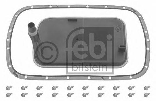 FEBI BMW Фильтр АКПП с прокладкой и винтами Е46, Е39 FEBIBILSTEIN 30849