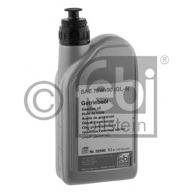 32590  GL-5 75W-90 1L x12  FEBI - Масло трансмісійне FEBIBILSTEIN 32590