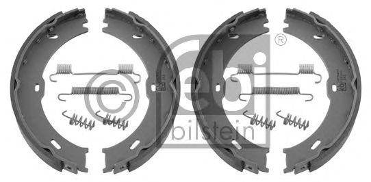 FEBI DB Колодки ручного тормоза Sprinter 06- (компл.с пружинками!!!) FEBIBILSTEIN 32851