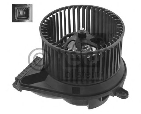 FEBI DB Электродвигатель вентилятора салона VITO 95- FEBIBILSTEIN 34596