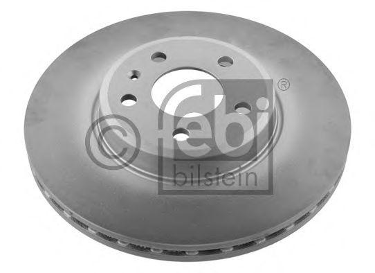 FEBI AUDI Диск тормозной передний (314мм) A4 07-, A5. FEBIBILSTEIN 36232