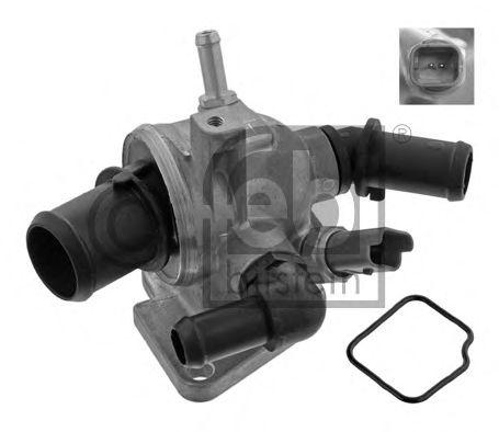FEBI FIAT Термостат с прокладкой и сенсором 88°C Doblo 1.3d 05-, Florino 1.3d 08-, Idea 1.3d, Opel Astra 1.3CDI FEBIBILSTEIN 36284