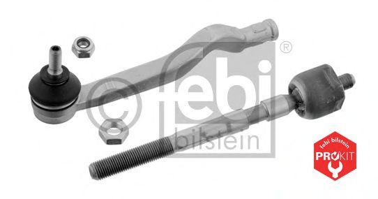 FEBI DACIA Рулевая тяга с неаконечником левая Logan 04- FEBIBILSTEIN 37621