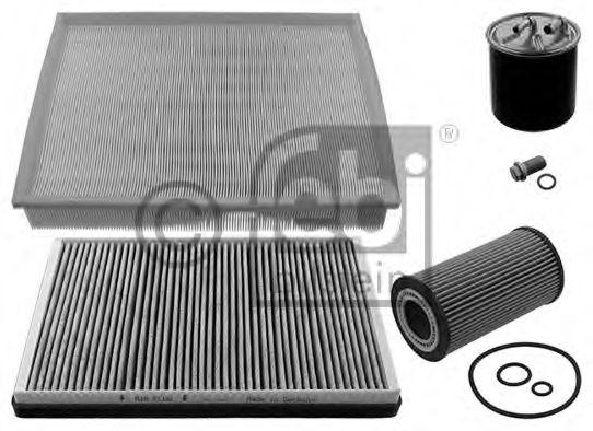 Комплект фильтров MB Sprinter 2.2CDI OM646 06- (воздушный/масляный/топливный/салона угол.) PARTSMALL арт. 39608