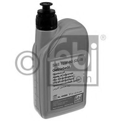 Масло трансмисс. FEBI SAE 75W-80 GL-5 (Канистра 1л)                                                   арт. 40580