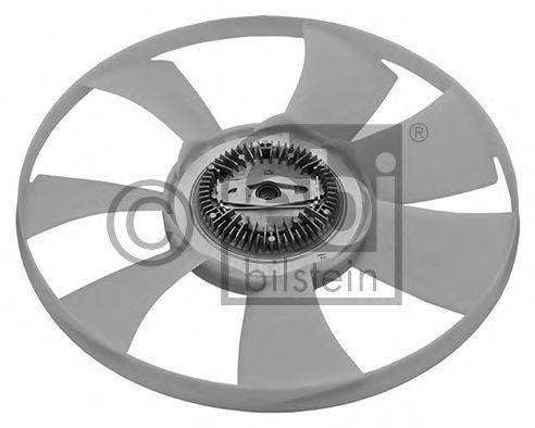 FEBI DB Вискомуфта с вентилятором!!! Sprinter 208-416 OM611-612 00- FEBIBILSTEIN 44863