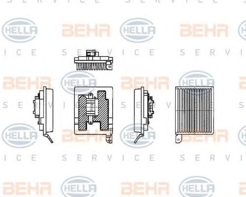 Регулятор вентилятора MB Viano/Vito BEHRHELLASERVICE 5HL351321181