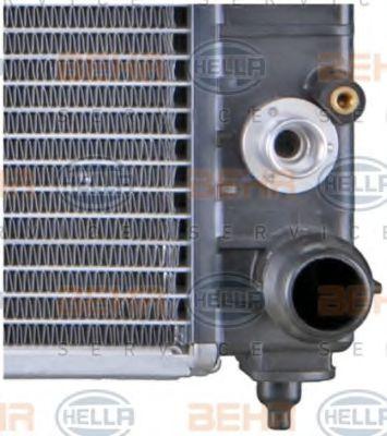 Радиатор охлаждения двигателя в интернет магазине www.partlider.com