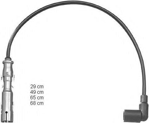 Высоковольтные провода (пр-во BERU)                                                                  BERU ZEF1224