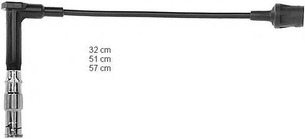 Высоковольтные провода (пр-во BERU)                                                                  BERU ZEF641