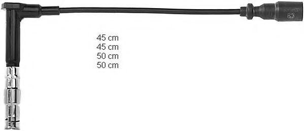 Высоковольтные провода (пр-во BERU)                                                                  BERU ZEF642