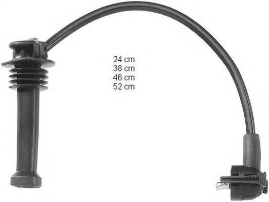 Высоковольтные провода (пр-во BERU)                                                                  MAGNETIMARELLI арт. ZEF719