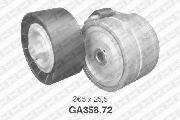 Фото - Натяжной ролик, поликлиновой ремень SNR - GA35872