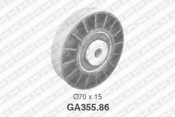 GA355.86  NTN-SNR - Обвідний ролик SNR арт. GA35586