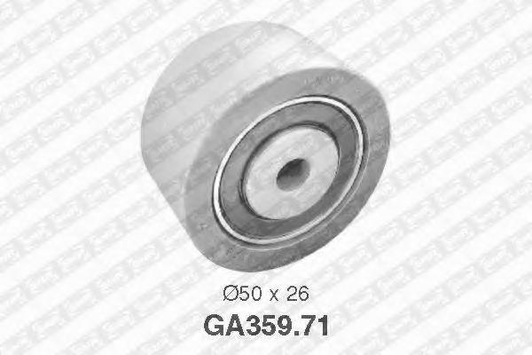 Фото - Паразитный / ведущий ролик, поликлиновой ремень SNR - GA35971