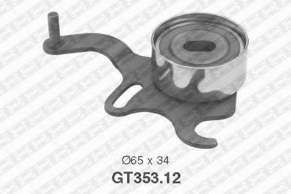 GT353.12  NTN-SNR - Натяжний ролик ременя ГРМ SNR арт. GT35312