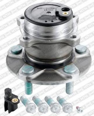 R152.69  NTN-SNR - Комплект підшипника ступиці  арт. R15269