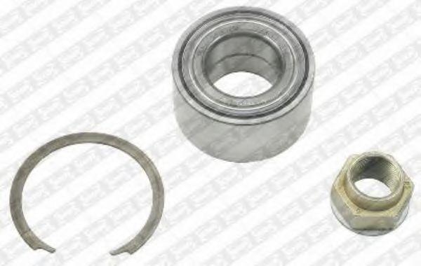 R158.36  NTN-SNR - Комплект підшипника ступиці  арт. R15836