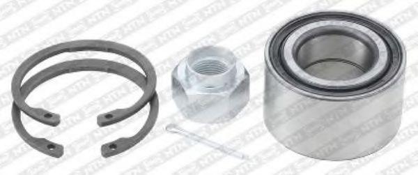 R190.00  NTN-SNR - Комплект підшипника ступиці  арт. R19000