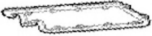 Прокладка, крышка головки цилиндра  арт. JP070