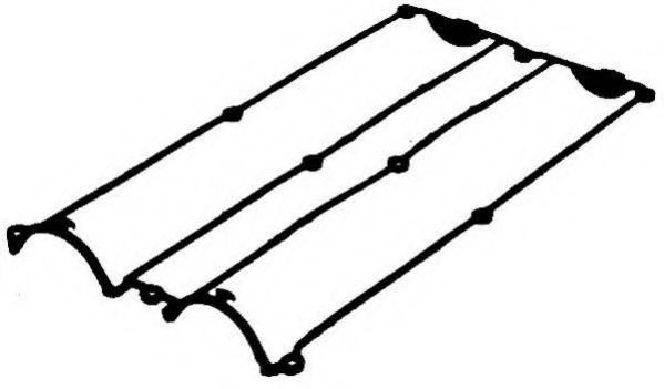 Прокладка крышки клапанной FORD 1.6/1.8/2.0 ZETEC (пр-во PAYEN)                                       арт. JN950