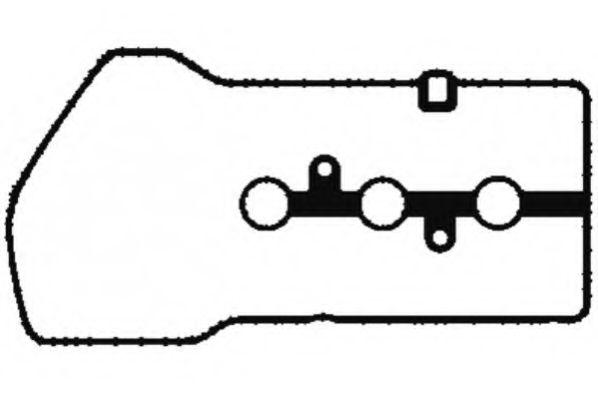 Прокладка клапанної кришки гумова  арт. JM7042