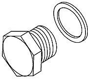 Лямбда-зонд Резьбовая пробка, держатель лямбда-зонда HJS арт. 82111437