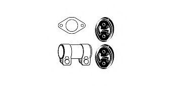 Катализатор Монтажный комплект, катализатор HJS арт. 82156576