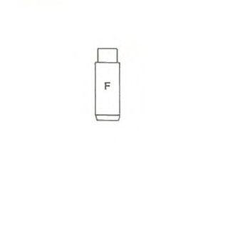 Направляющая клапана IN/EX FIAT 0.9/1.1/1.3 (пр-во Metelli)                                           арт. 011467