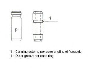 Направляющая втулка клапана  арт. 012058