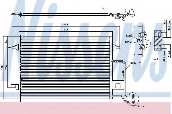 Радіатор охолодження NISSENS 94592