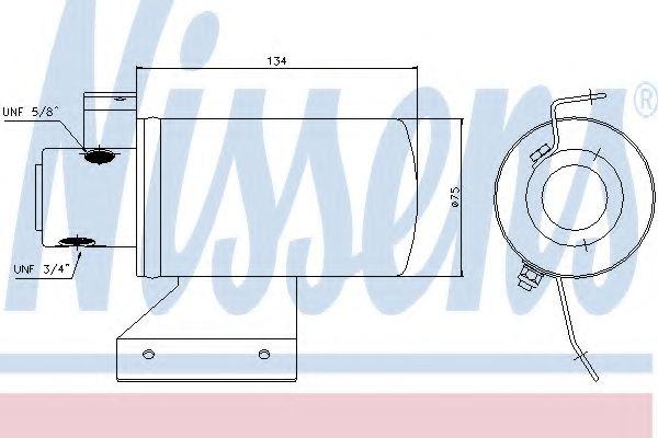 Осушитель кондиционера Volkswagen (пр-во Nissens) в интернет магазине www.partlider.com