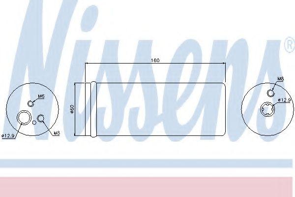 Осушитель кондиционера  AUDI;  SEAT; SKODA; VOLKSWAGEN (пр-во Nissens) в интернет магазине www.partlider.com