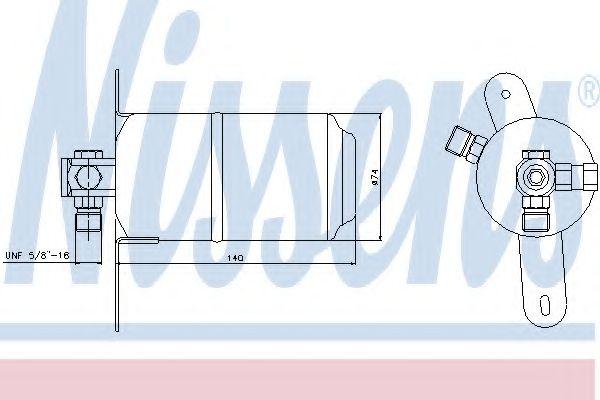 Осушитель кондиционера MERCEDES-BENZ (пр-во Nissens) в интернет магазине www.partlider.com
