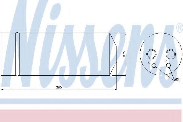 Радіатор охолодження NISSENS 95314