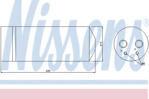 Радіатор охолодження NISSENS 95352