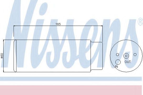 Осушитель кондиционера MERCEDES ML-CLASS W 163 (98-) (пр-во Nissens) в интернет магазине www.partlider.com