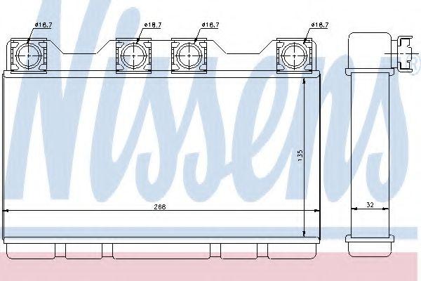Печка  B12(E38)5.7 i V12(+)[OE 6411.8.373.175]